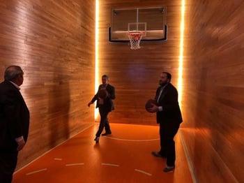 basketball at NRF Big Show 2019